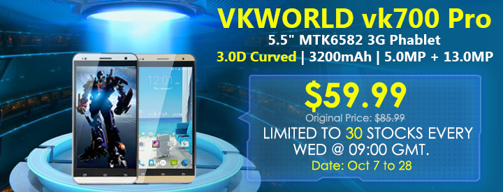 Vkworld VK700 Pro Flash Sale from Everbuying 1