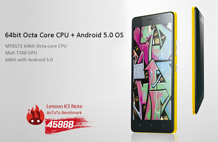 Lenovo K3 Note Review desde Gearbest 1