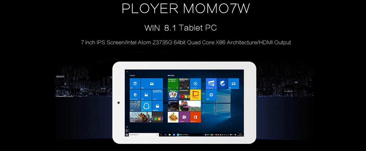 Ployer Momo7W Review from Gearbest 1