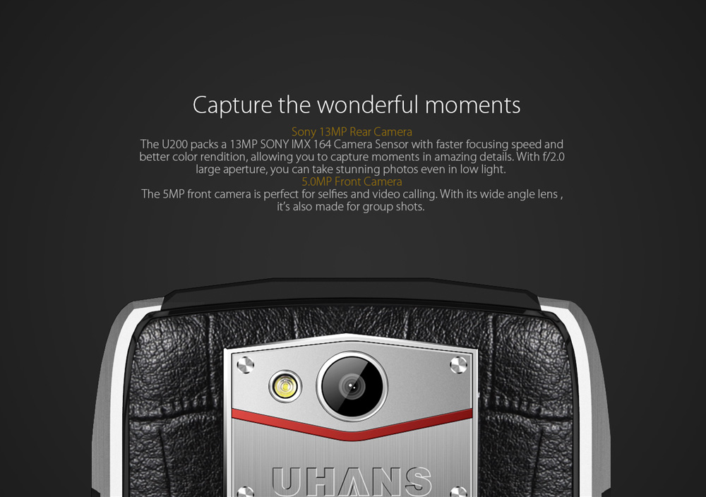 Uhans U200 Review desde Gearbest 5