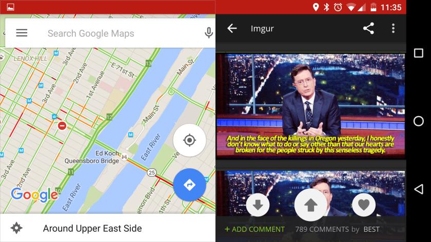 Ya puedes activar el modo Multiwindow en Android 6.0 Marshmallow 1
