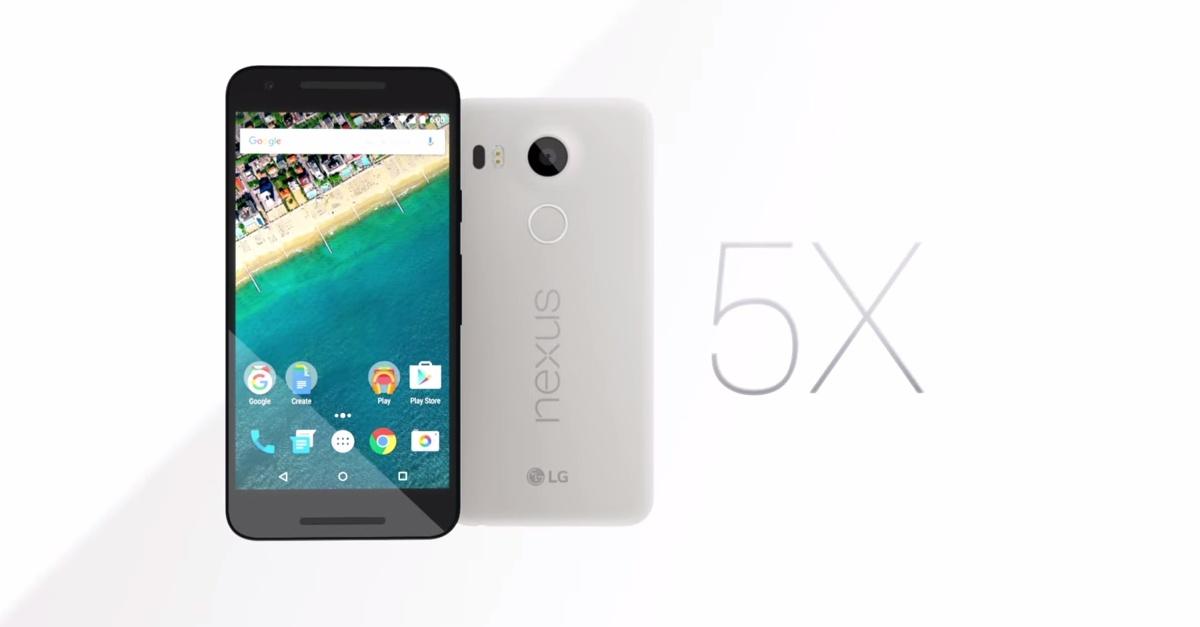 Alguns usuarios do Google Nexus 5X relataram inumeras falhas no carregamento e com tela 1