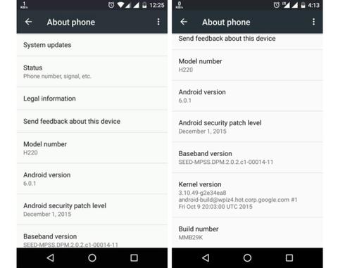Android 6.0.1 Marshmallow começa a sua implantação de repente 1