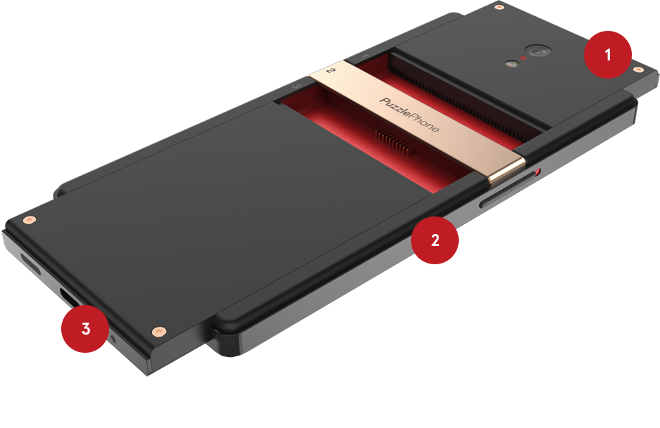 Another modular smartphone enters the market with PuzzlePhone 1
