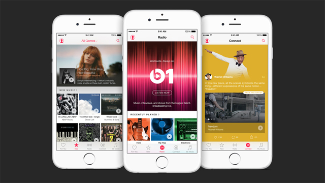 Apple Music is already among us with its Android version 1