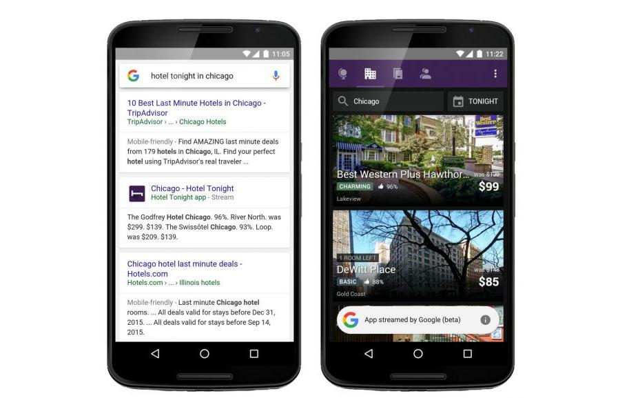 Google deja ahora probar aplicaciones de Android antes de descargarlas 1