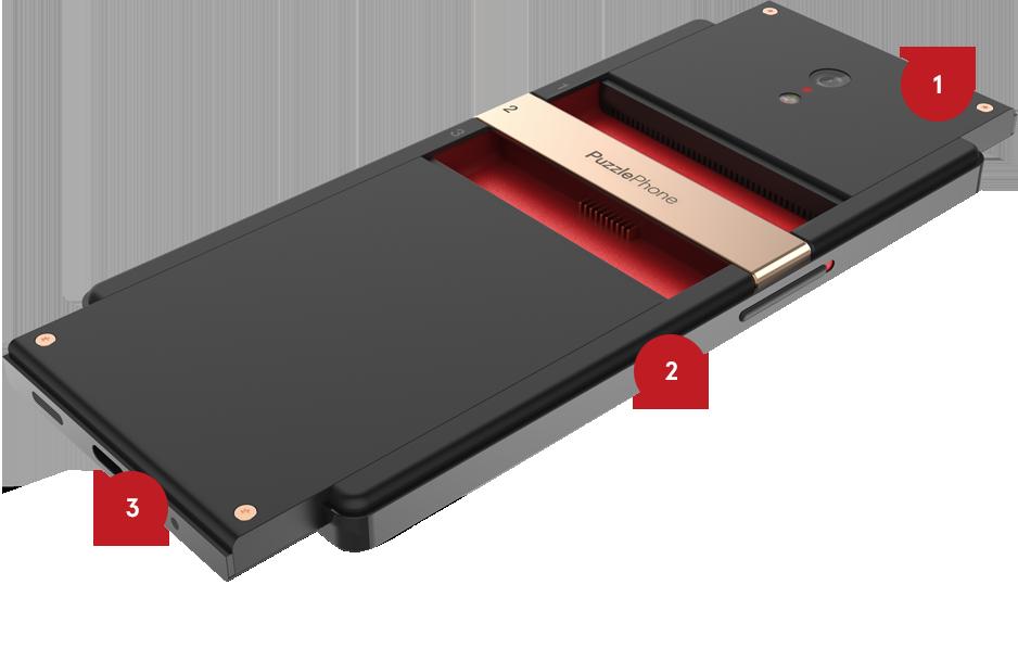 Otro smartphone modular pretende entrar en el mercado con PuzzlePhone 1