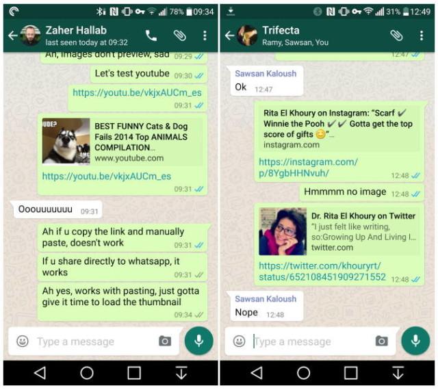 WhatsApp para Android se actualiza y presenta importantes novedades 1