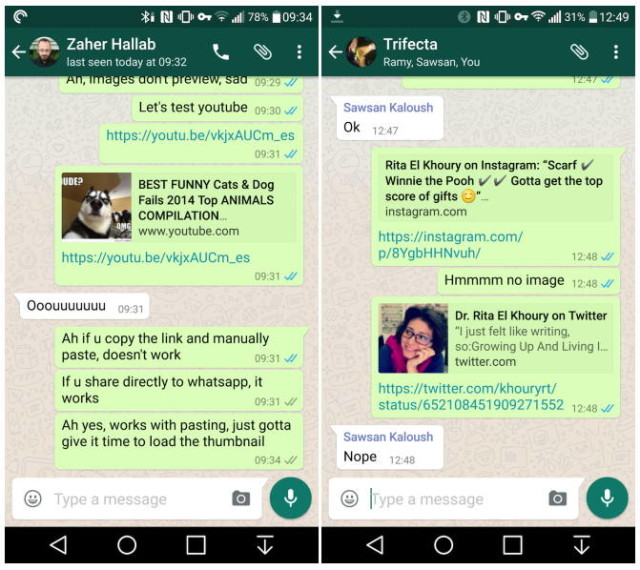 WhatsApp for Android is updated and introduces important new features 1