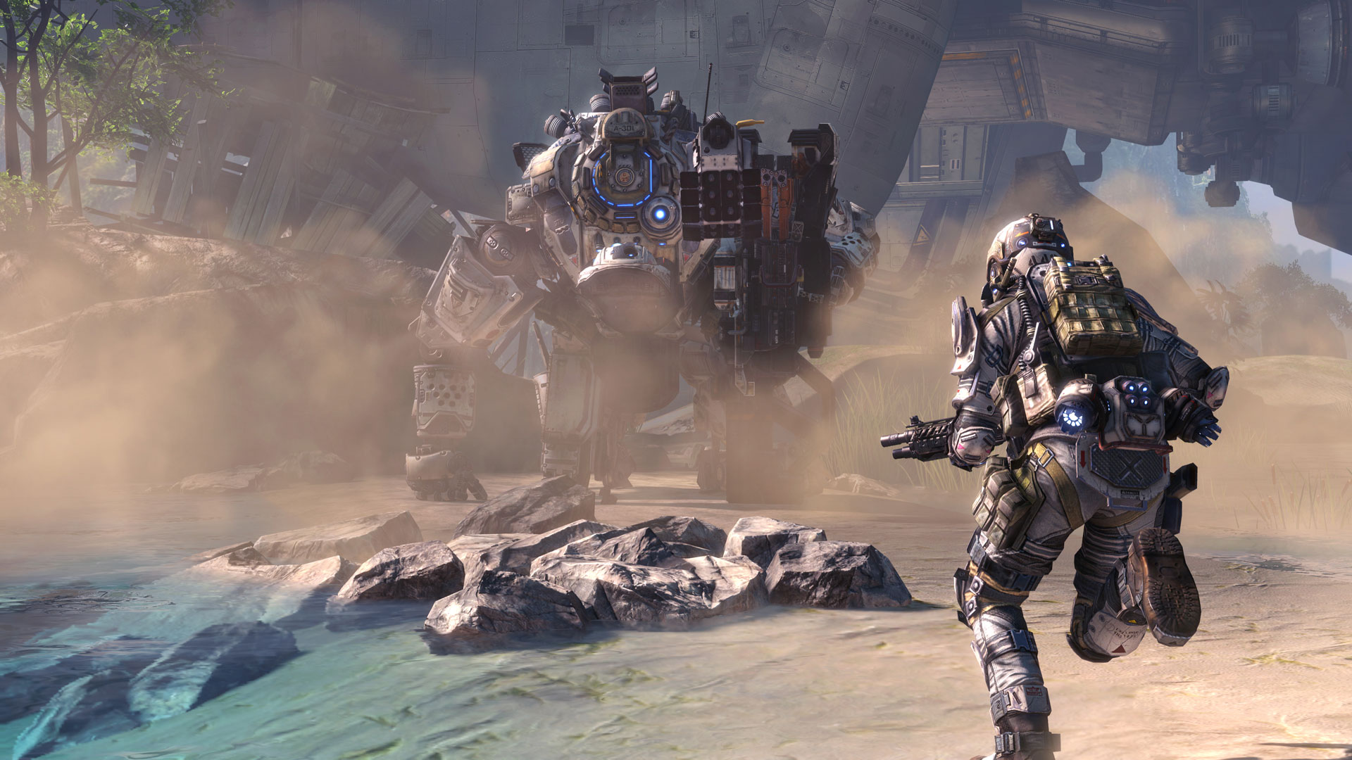 The popular franchise Titanfall directs its gaze to Android in 2016 1