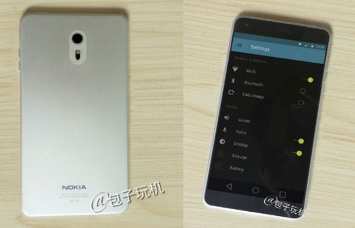 A supposed new image of Nokia C1 can be the return of Nokia to smartphones with Android and Windows 10 1