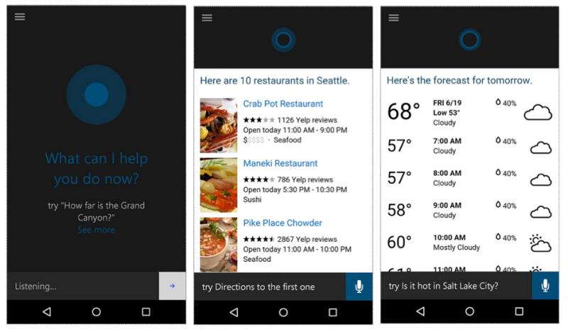Cortana esta agora oficialmente disponivel para Android e iOS 1