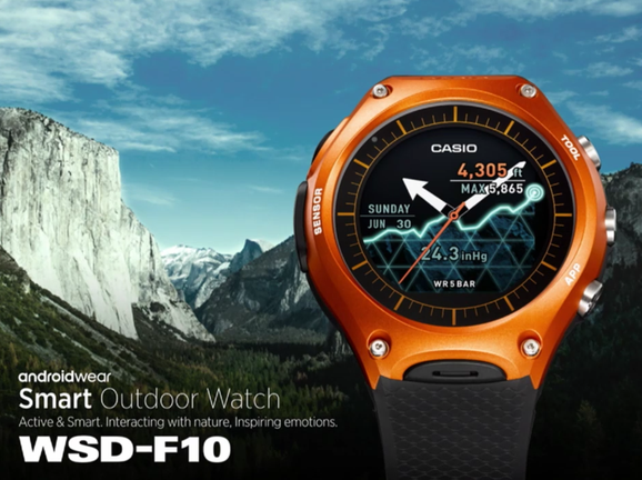 Casio enters the smartwatches market and this is its first Android Wear 1