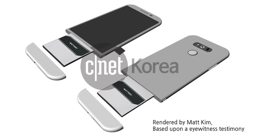 LG G5 will be presented on February 21 during the MWC 2016 1