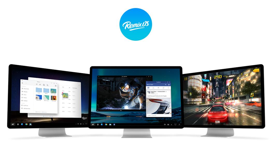 Remix e o sistema operacional Android para PC e vamos conhece-lo em meados de janeiro 1