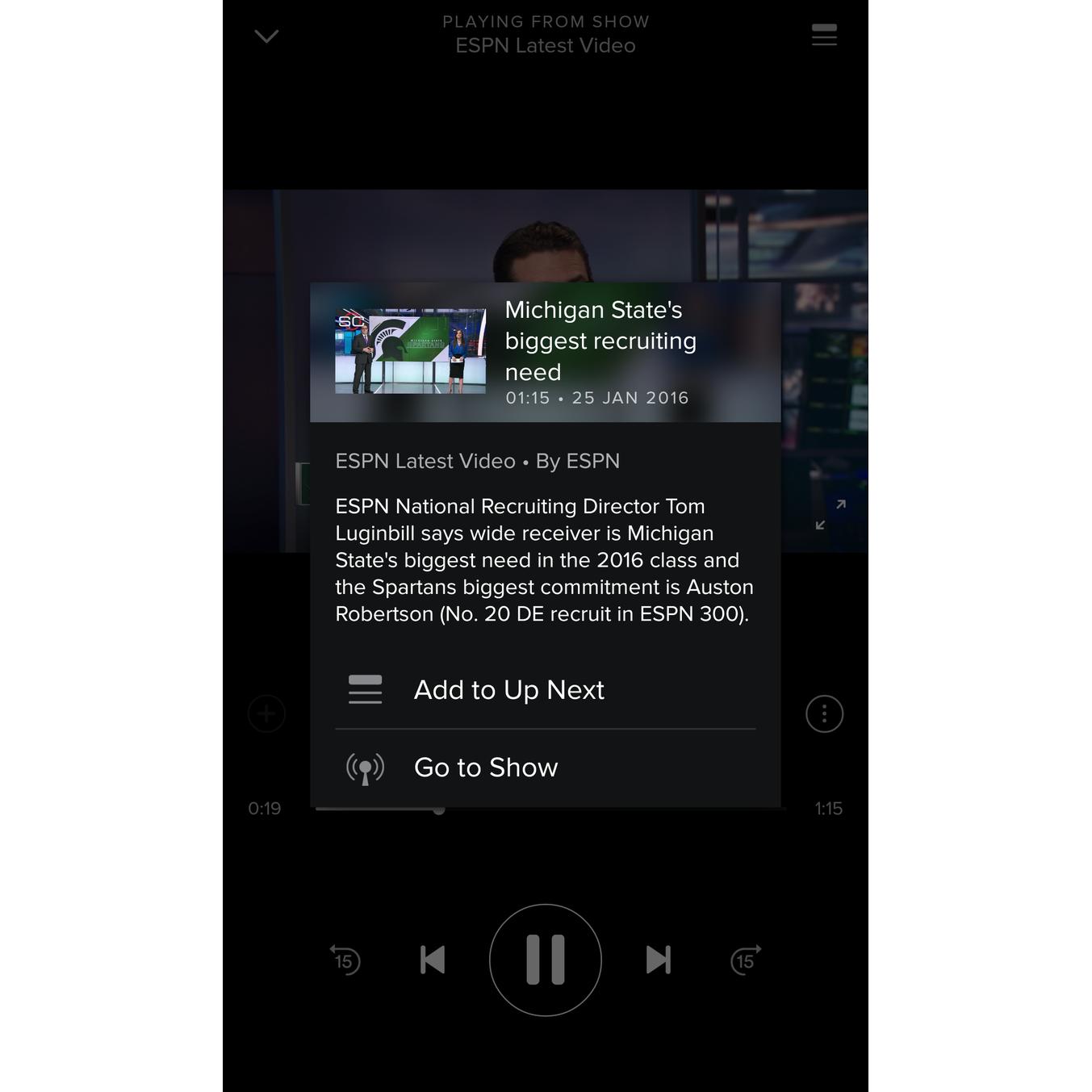 Con Spotify ahora puedes ver videos en streaming para Android e iOS 1