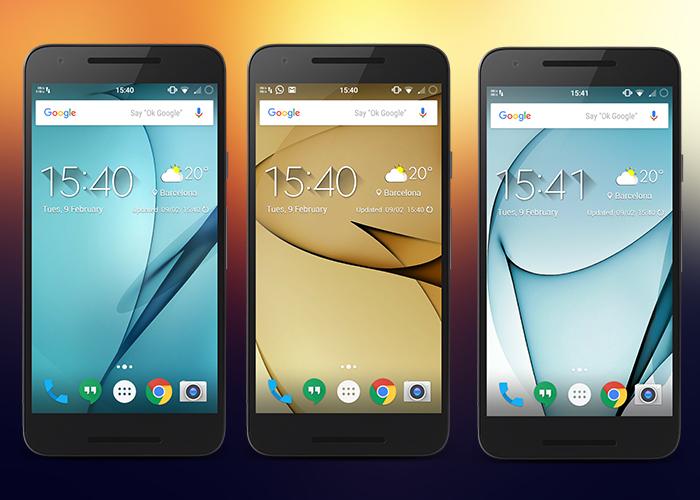 Fondos de pantalla oficiales para Samsung Galaxy S7 aparecen en la red 1