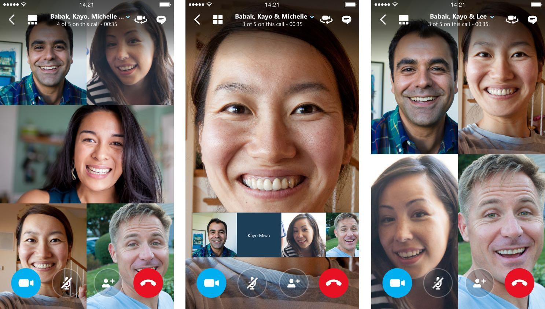 Skype permite realizar llamadas de video con hasta 25 participantes en Android e iOS 1