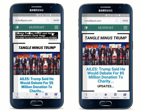 O navegador de Samsung para Android agora permite bloquear anuncios 1