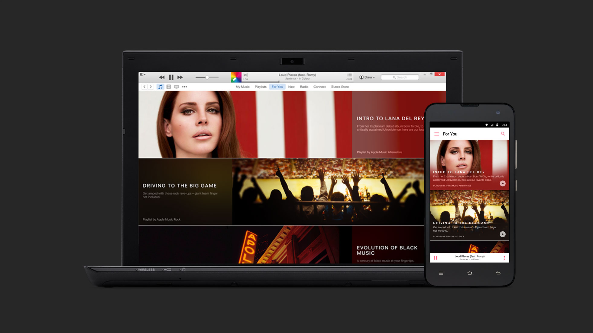 O Apple Music tem um widget para Android na tela inicial 1