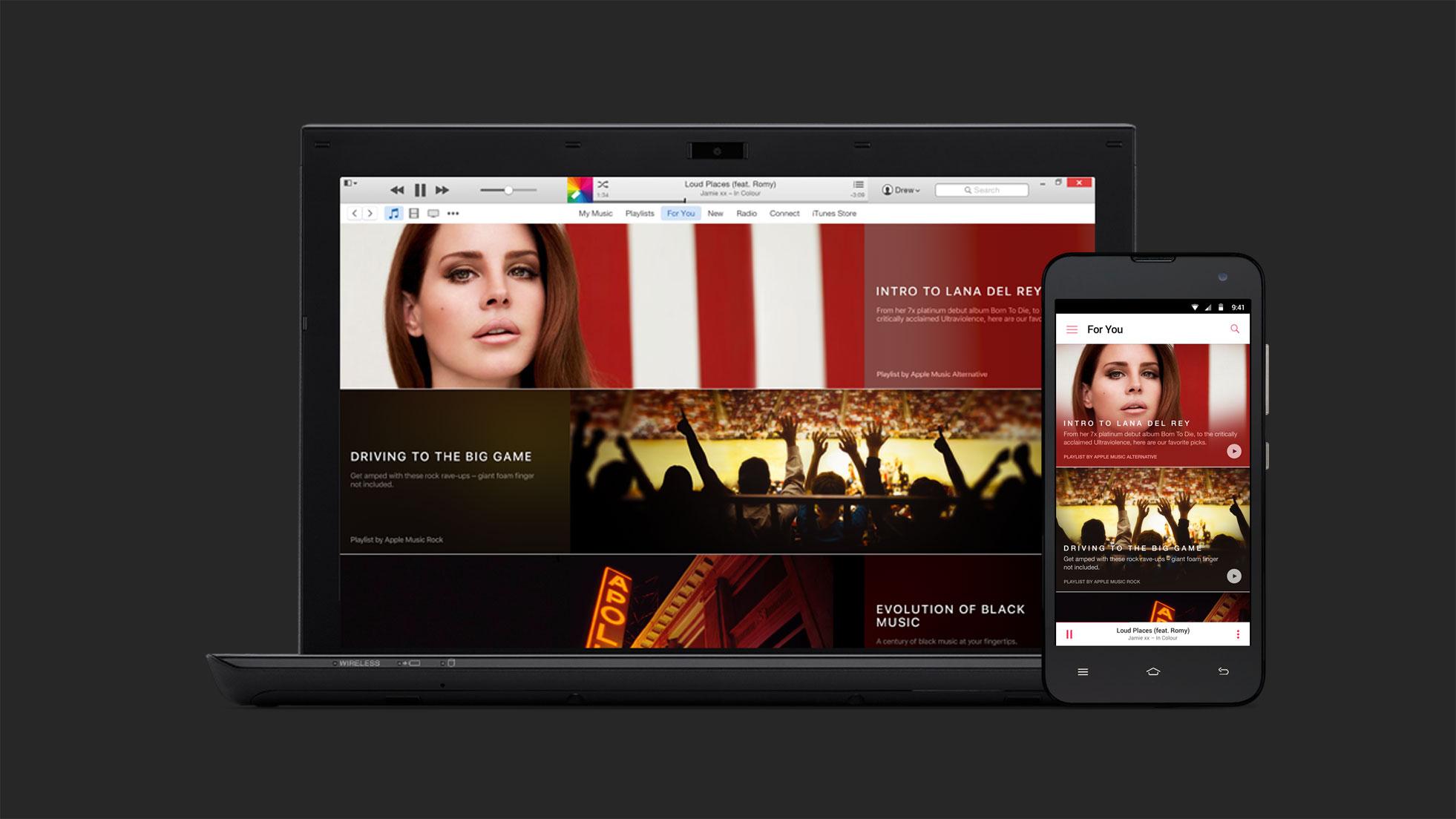 Apple Music tiene un widget para la pantalla principal de Android 1