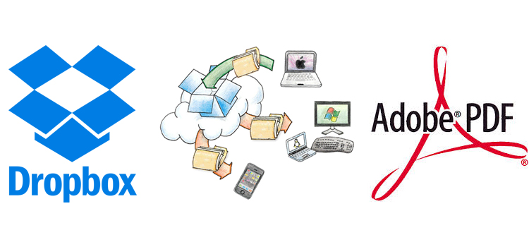 Dropbox and Acrobat Reader are working together on Android 1