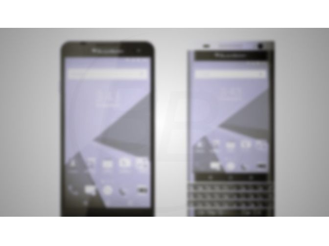First images leaked of the BlackBerry Hamburg and Rome 1