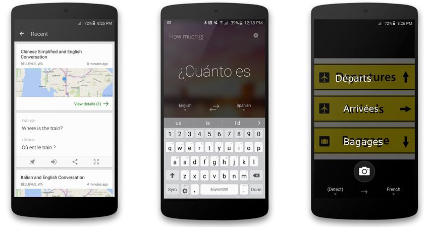 Microsoft agora oferece traducoes para imagens em Android 1