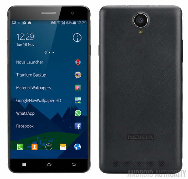 Nokia A1 can be the great return of the famous brand with a mid-range Android smartphone 1