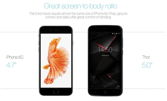 iphones vs vernee thor