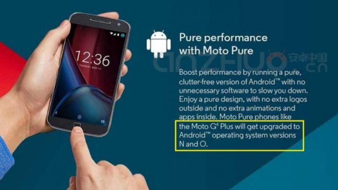 Motorola anuncia Android O e antecipa Google 1