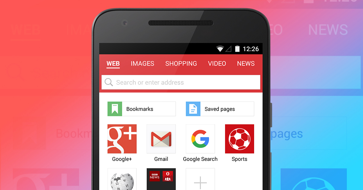 Opera for PC and Android with adblock integrated 1