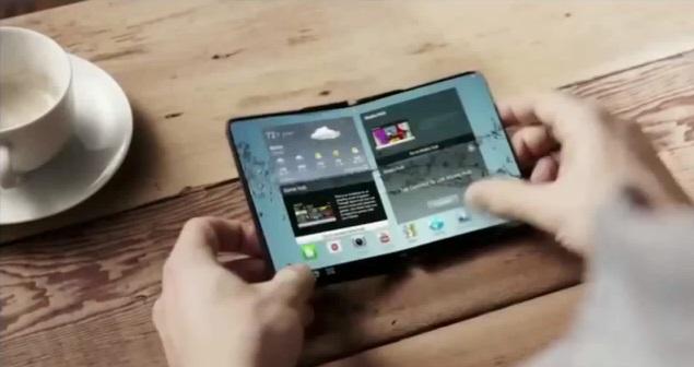 Novos rumores sobre o lancamento do primeiro smartphone dobravel da Samsung para 2017 1