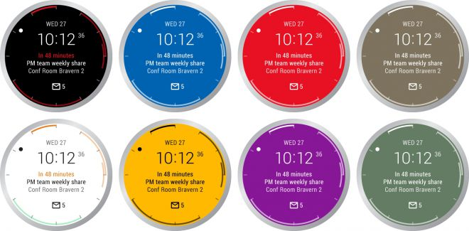 Microsoft atualiza o watchface do Outlook para Android Wear 1