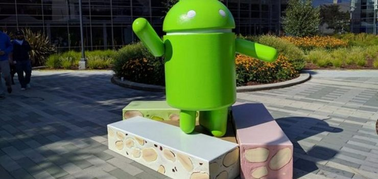 Android 7.0 Nougat distributed to users in the final version in August 1