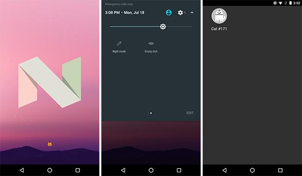 Android 7.0 Nougat Final Developer Preview disponible para descargar 1