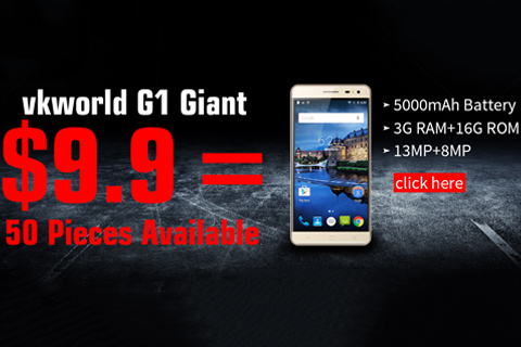 VKworld G1 Giant for only 9.9 dollars 1