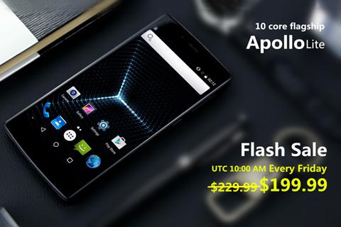 Vernee Apollo Lite Flash Sale y dos accesorios gratuitos por solo $199.99 1