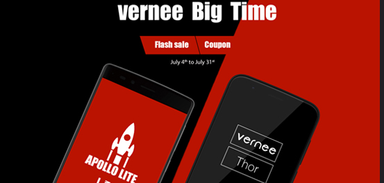 Vernee Big Time: Flash Sale, descuento y smartphones gratis 1