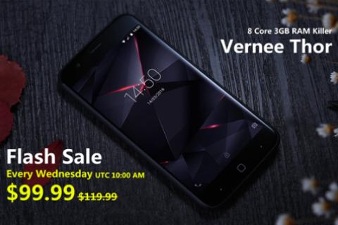 Vernee Thor Flash Sale por menos de 90 euros 1