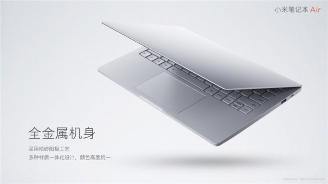 Xiaomi revela Redmi Pro con Android y Mi Notebook Air con Windows 1