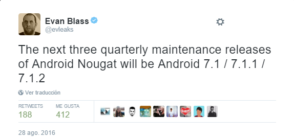 Android 7.1 Nougat is confirmed as maintenance release 1