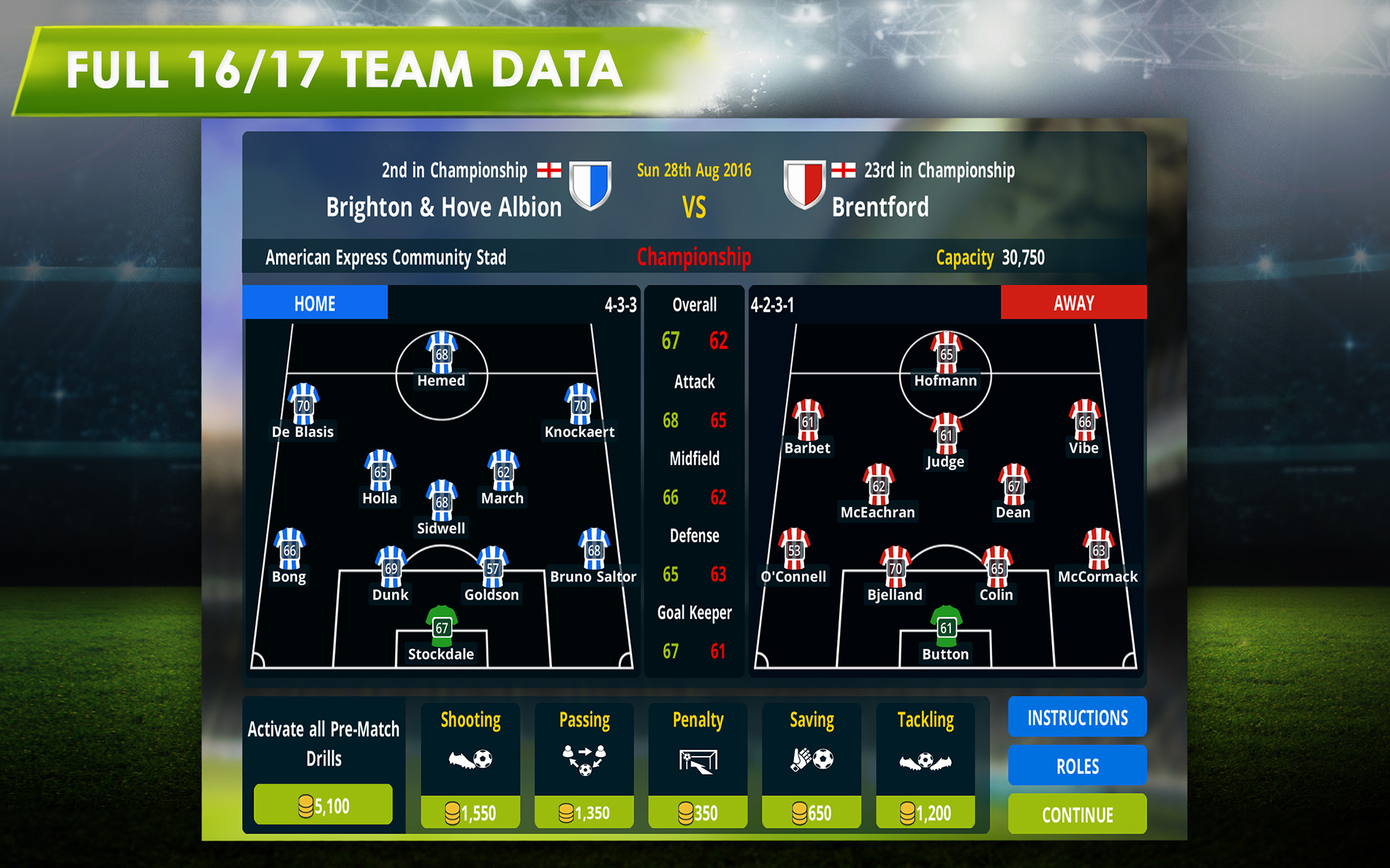 Championship Manager 17 llega a Android 1