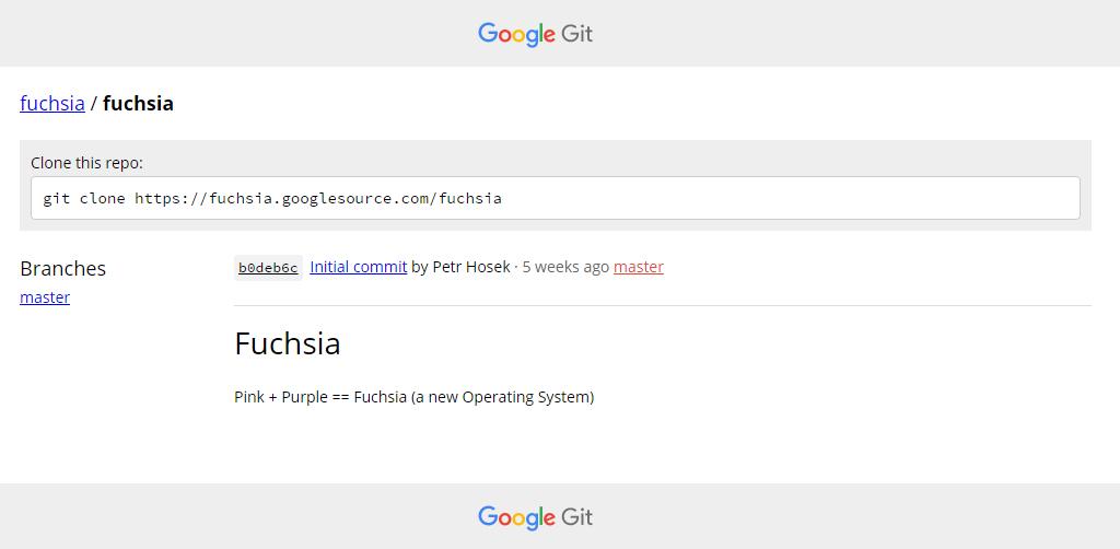 Google trabaja en un nuevo sistema operativo para smartphone y PC llamado Fuchsia 1
