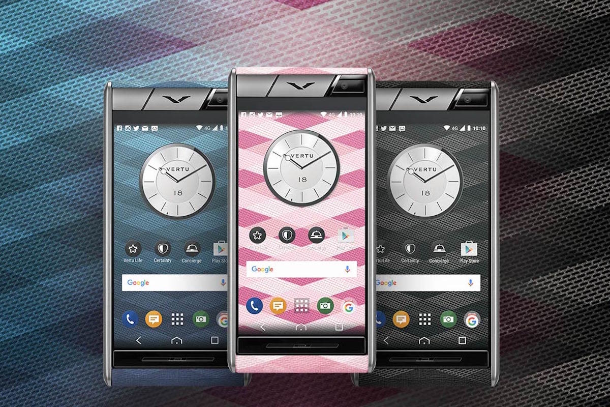 Aster Chevron, the luxurious Vertu smartphone with Android operating system 1