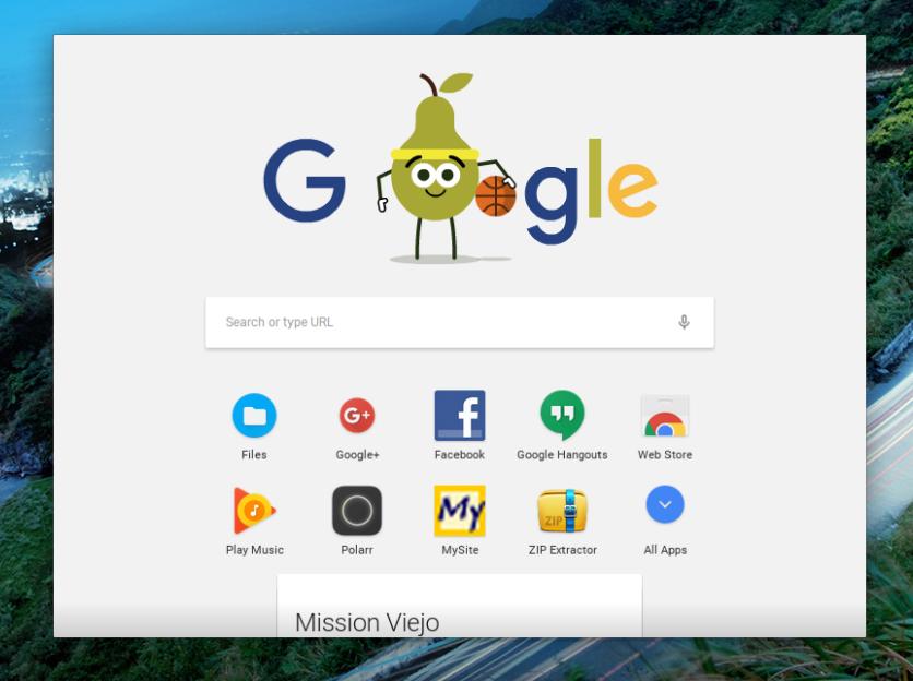 Chrome OS se actualiza con cambios de apariencia en apps Android 1
