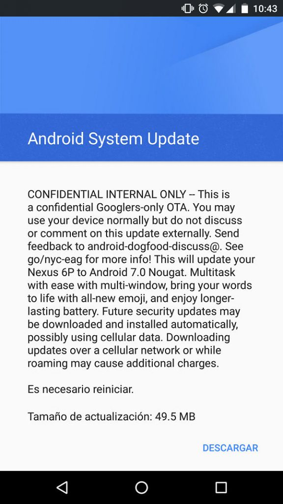 Android 7.0 Nougat will come in August according to Evleaks 1
