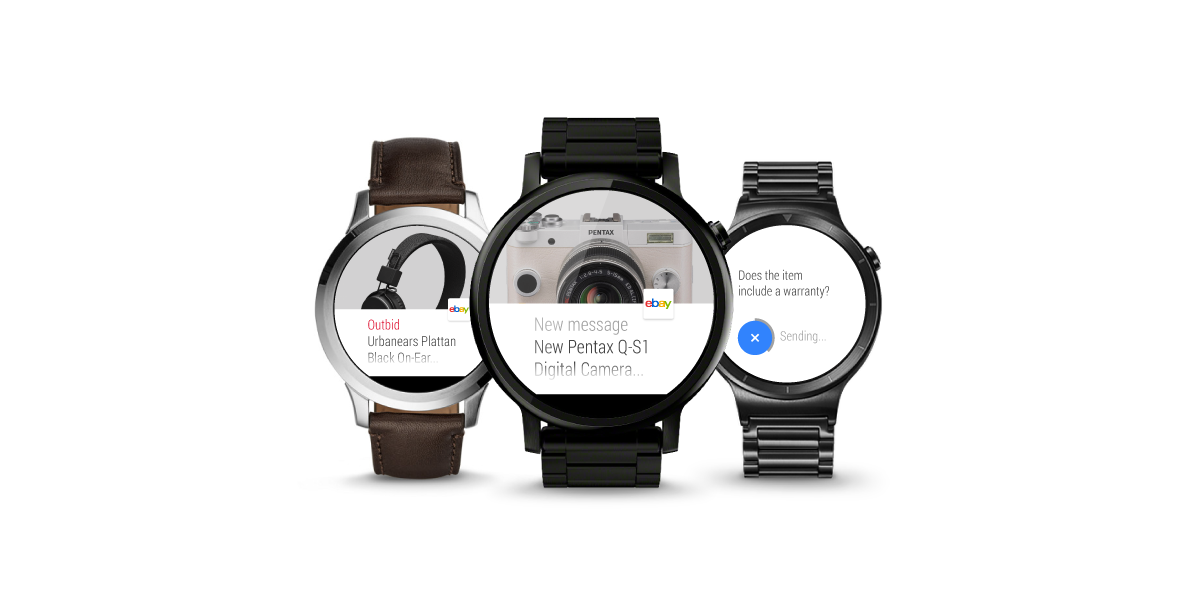 eBay for Android updated with One Time Password and app for Android Wear 1