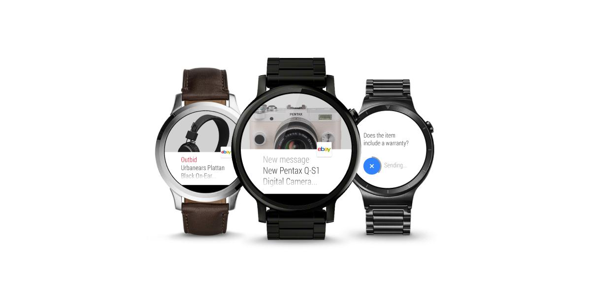 eBay para Android actualizado con One Time Password y app para Android Wear 1