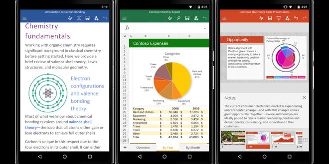 Office y OneDrive actualizados con nuevas opciones para Android 1